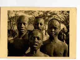 A 143  -  Tchad  -  Types De Sara De Port Archambault  - Scarifications  -  Photo René Moreau - Afrique