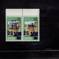 610954582 GUYANA 1984  ** MNH SCHAAK ECHEC CHESS SCHACH SCOTT 764A - Scacchi