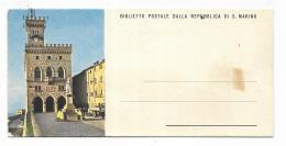 BIGLIETTO POSTALE DALLA REPUBBLICA DI S.MARINO - CM.16X7,5 - San Marino