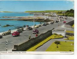 Postcard - Promenade, Salthill, Galway Bay, Ireland  - Posted Date Obscured Very Good - Non Classificati