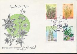ALGERIE YVERT 762/65 FDC - Algérie (1962-...)