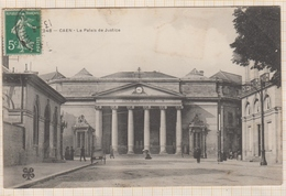8AK1877 CAEN LE PALAIS DE JUSTICE 2 SCANS - Caen