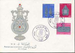 ALGERIE YVERT 776/78 FDC - Algérie (1962-...)