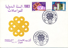 ALGERIE YVERT 792/93 FDC - Algérie (1962-...)
