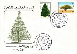 ALGERIE YVERT 779/80 FDC - Algérie (1962-...)