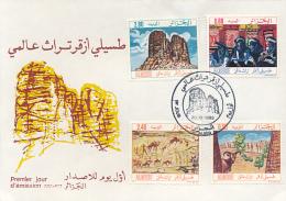 ALGERIE DOGS YVERT 794/97 FDC - Algérie (1962-...)
