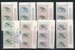 ALGERIE 1962 ISSUE YVERT 369/76 STRIP WITH MARGINAL INSCRIPTION  MNH - Algérie (1962-...)