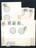 ALGERIE 1962 ISSUE YVERT 369/76 FDC - Algérie (1962-...)
