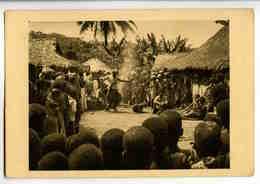 A 128  -  Gabon  -  Fétichisme  -  Le Poison D'épreuve  -  Photo René Moreau - Afrique