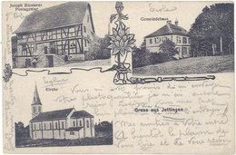 Cpa 68 – Gruss Aus Jettingen ( Multivues ) - France