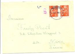 JUGOSLAVIJA ENV 1948 ZAGREBA  LETTRE  => FRANCE - 1945-1992 Sozialistische Föderative Republik Jugoslawien