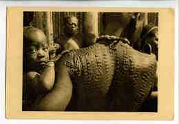A 130  -  Caméroun  - Tatouages En Relief  -  Photo René Moreau - Afrique