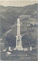 Cpa 73 – Allevard – Monument D'A. ( Carte-photo ) - Allevard