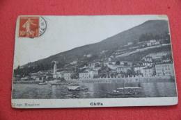 Lago Maggiore Ghiffa Verbano 1908 Angoli Un Pò Rovinati - Italia
