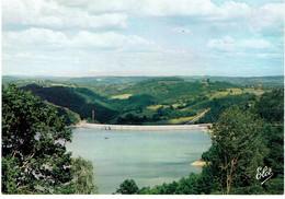 CPM FRANCE 19 CORREZE BORT-LES-ORGUES - La Retenue Du Lac Vers Le Barrage - Autres Communes