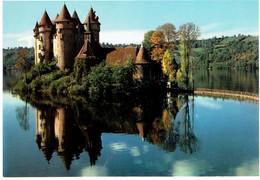 CPM FRANCE 19 CORREZE BORT-LES-ORGUES - Le Château De Val Sur Le Barrage De Bort-les-Orgues - Autres Communes