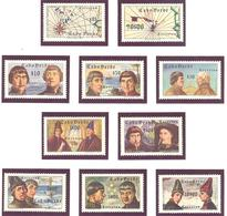 Cap Vert:Yvert N° 269/278** Cote 45.50€ - Cap Vert