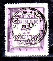 Cook-0001 - Emissione 1892 (o) Used - Senza Difetti Occulti. - Cook