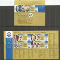PAPOUASIE NOUVELLE GUINÉE. Centenaire De La FIFA, Deux Bloc-feuillet Neufs ** Côte 25 € EUR, Année 2004 - Football
