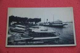 Lago Maggiore Baveno Verbano Arrivo Del Piroscafo NV - Italie