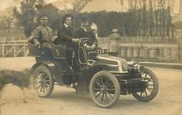 Gonnord - Carte Photo 1903 - Automobile Ancienne Voiture De Marque ? - Immat 724-P - AA23 - France