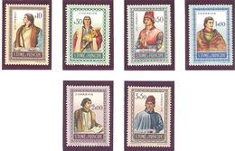 Saint Thomas Et Prince:Yvert N° 360/365* - St. Thomas & Prince