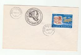 AMUNDSEN ANTARCTIC EXPEDITION Anniv EVENT COVER  ROMANIA Stamps Polar Aviation - Polar Exploradores Y Celebridades
