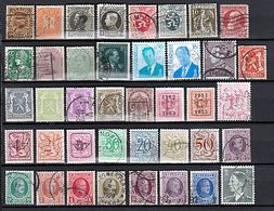 (4) BELGIEN Konvolut / Lot / Fundgrube (PDXLO 1-4) - Sammlungen