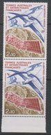 TAAF 1991 Albatros - Argos 1v (pair) ** Mnh (39675A) - Neufs