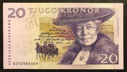 Sweden 20 Kronor 1997-2011 Svezia 20 CORONE Pick 63 Fds Lotto.2075 - Svezia