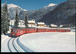 Gleichstrom - Triebwagen ABDe 4/4 Nr.485 +481 - Trains