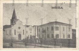 MIEGA Di ALBAREDO D'ADIGE (VERONA) - La Chiesa Con Il Monumeto (animata) - Verona