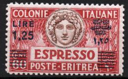 Eritrea 1927 Espressi Sass.Ex9 **/MNH VF - Eritrea
