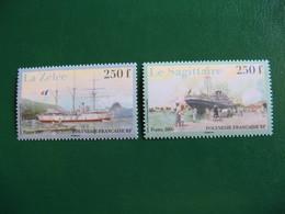 POLYNESIE YVERT POSTE ORDINAIRE N° 809/810 TIMBRES NEUFS** LUXE - MNH - FACIALE 4,19 EUROS - Neufs