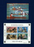 Isla De Man / St. Tomé Y Príncipe (2 Hojas Bloque)  En Nuevo - Mezclas (max 999 Sellos)