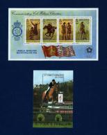 Jersey / St. Tomé Y Príncipe (2 Hojas Bloque)  En Nuevo - Mezclas (max 999 Sellos)