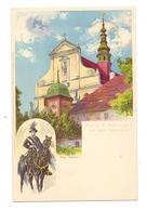 0-8291 PANSCHWITZ - KUCKAU, Kloster St. Marienstern, Wendischer Osterreiter, Max Näther, Verlag Meissner & Buch - Panschwitz-Kuckau