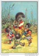 Igel - Tanzen - Comicfiguren