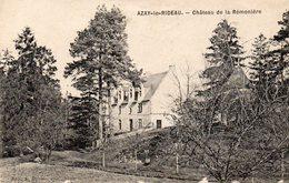 AZAY LE RIDEAU  Château De La Rémonière - Azay-le-Rideau