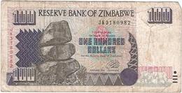 Zimbabue - Zimbabwe 100 Dollars 1995 Pick 9a Ref 1802 - Zimbabwe