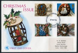 1974 GB Christmas First Day Cover. Great Hospital, Norwich - FDC