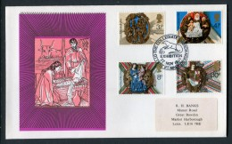 1974 GB Christmas First Day Cover. Ottery St Mary Exhibition - FDC