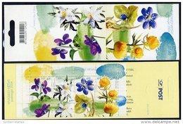 ESTONIA 2004 Spring Flowers Booklet  MNH / **.  Michel MH4 - Estonia