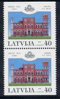 LATVIA 2003 Birinu Castle Booklet Pair MNH / **.  Michel 597 Do-u - Latvia