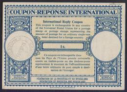 Federaion Of Rhodesia And Nyasaland, 1 S. London Type IRC COUPON REPONSE INTERNATIONAL REPLY UPU, Cancelled 12 JAN 1965 - Rhodesia & Nyasaland (1954-1963)
