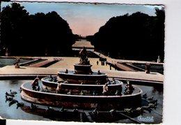 U3150 POSTCARD 1961 VERSAILLES, BASSIN DE LATONE + SCULTUR, SCULPTURE _ ED. CHANTAL - Versailles