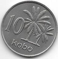 Nigeria 10 Kobo 1973  Km 10.1   Bu !!! - Nigeria