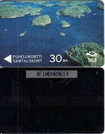 FINLAND(GPT) - View Over The Lake Pihlajavesi, CN : 4FIND(3.7 Mm), 07/91, Used - Finland