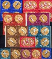 Imperf.Olympia Rom 1960 Rumänien 2010/9B+6x 4-Bl.o 75€ Goldmedaille Hojita S/s Blocs M/s Olympics Sheets Bf ROMANIA - Variétés Et Curiosités