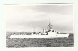 Photo HMCS YUKON Canadian Navy Ship 1986  Canada Photograph - Boats